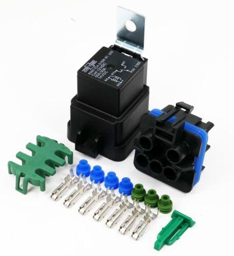 Delphi  Weather-proof 280 Medium Current Sealed Relay n Socket Kit SPDT 30 AMP