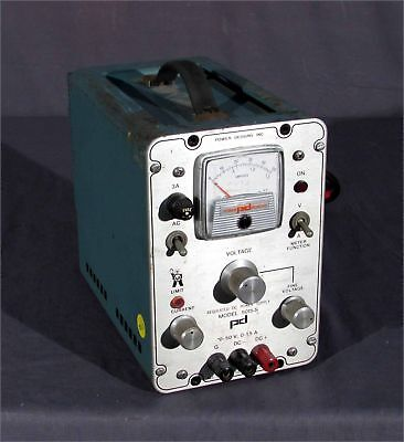Power Designs Ambitrol 5015-s 0-50vdc0-1.5a Dc Power Supply