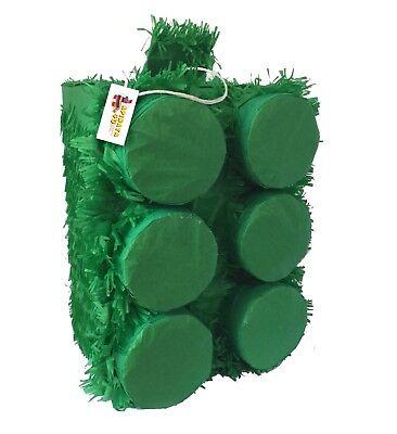 Large Pinata (Large Brick  Pinata Green Color)
