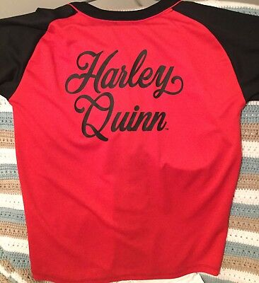 D.C. Comics Originals HARLEY QUINN Baseball Jersey. Brand New. Adult Size Medium (Original Harley Quinn Costume)