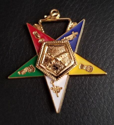 Marshal OES jewel Order of Eastern Star #36 1 1/2 wide