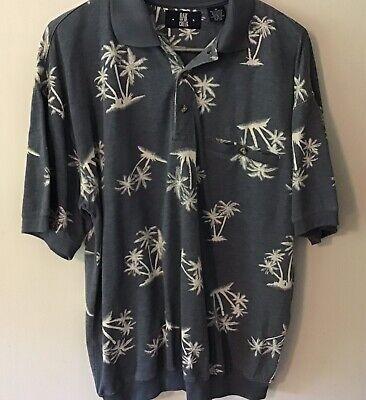 Banded Bottom Shirts For Men (MEN'S SZ MED BLUE ( OAK CREEK) PULLOVER  BANDED BOTTOM COTTON BLEND  SHIRT. . )