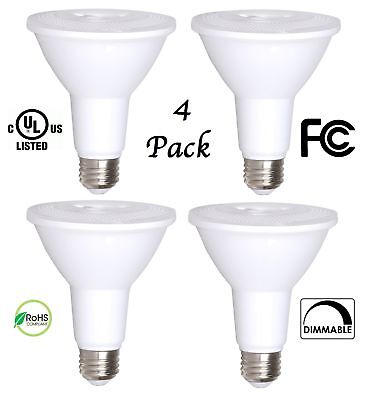 PAR30 LED Bulb 100W Replacement Indoor / Outdoor Dimmable Spot Light Bulb by Bio Indoor Spot Bulb