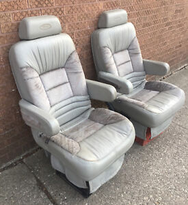 leather captains chair ebay