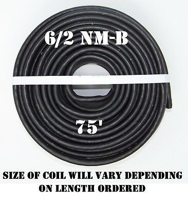 62 Nm-b X 75 Southwire Romex Electrical Cable