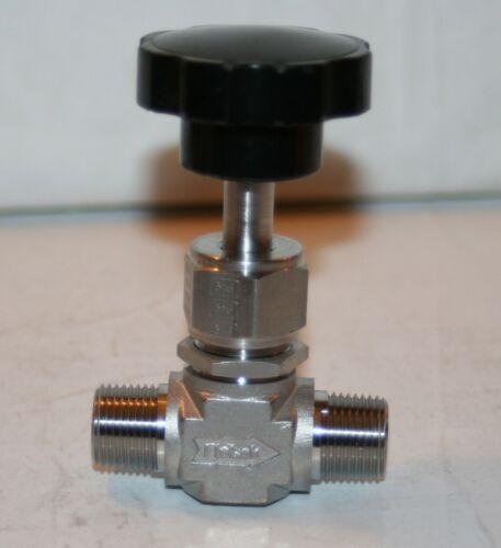 "3/8"" MNPT  Integral Bonnet 316ss Needle Valve (6000 Psig) SSP 636-316"