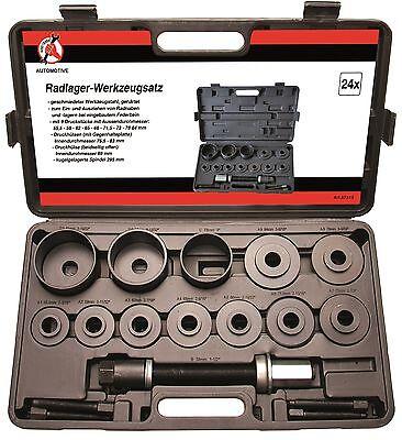 Radlagerwerkzeugsatz 25 tlg Radlagerwerkzeug Montage Radlager Wechsel Werkzeug