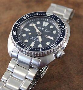 Seiko Prospex TURTLE Automatic Diver Watch Mens SRP773K1