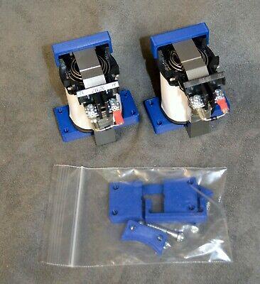 "2 each Virtual Pinball DOF Force Fdbck 24VDC Contactor Solenoid ""ThunderClap"""