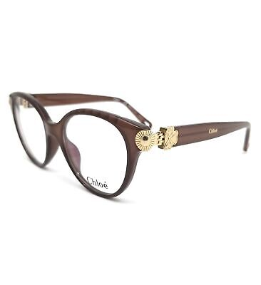 CHLOE Eyeglasses CE2733 210 Brown Cat Eye Women 52x17x140