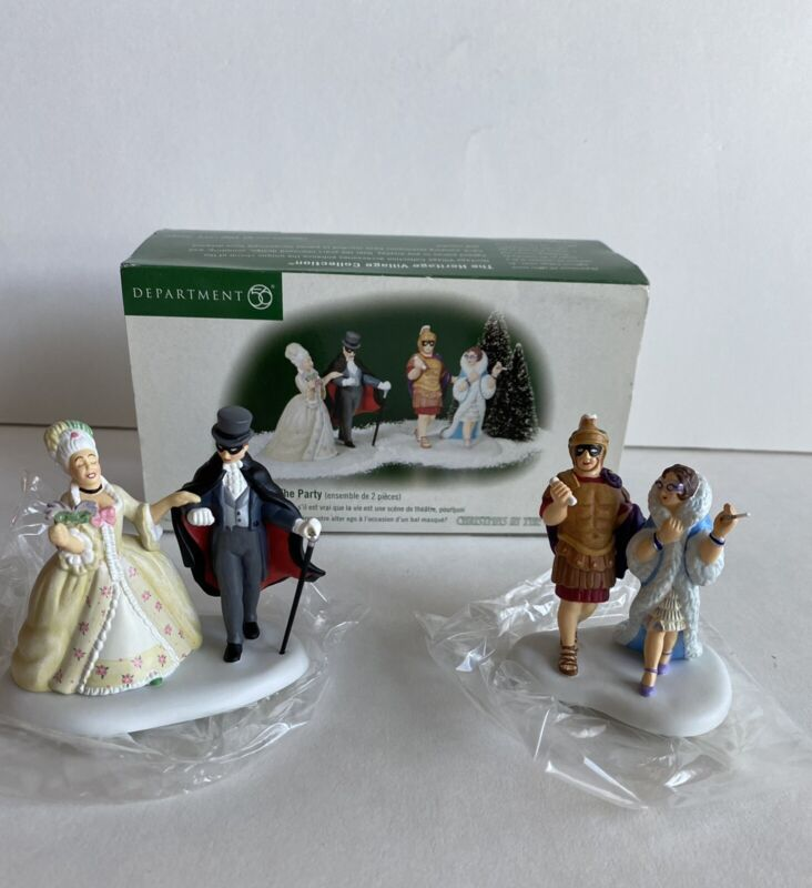 DEPT 56 THE LIFE OF THE PARTY 58970  CHRISTMAS IN THE CITY ACCESSORY MIB