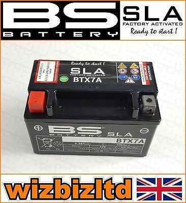 BS Motorbike SLA Sealed VRLA Battery Yamaha [125cc] XC125E [ALL Years] BTX7A for sale  Corby