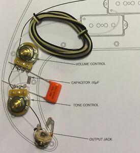 TAOT Fender® P-Bass® Wiring Kit - CTS 250K Pots, .047uf Orange Drop, Precision