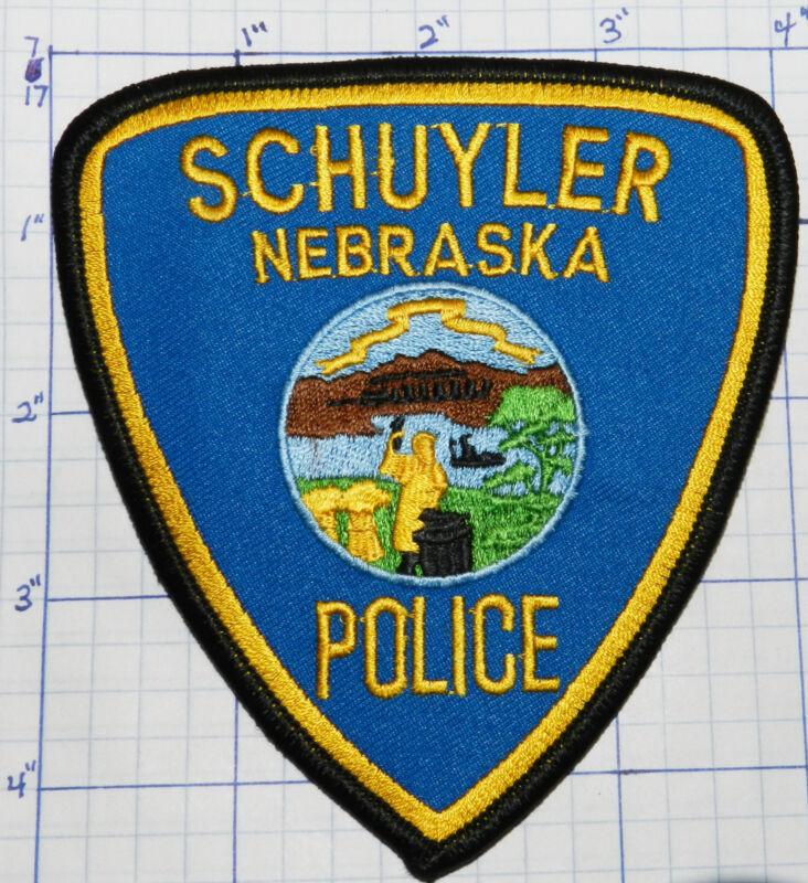 NEBRASKA, SCHUYLER POLICE DEPT PATCH