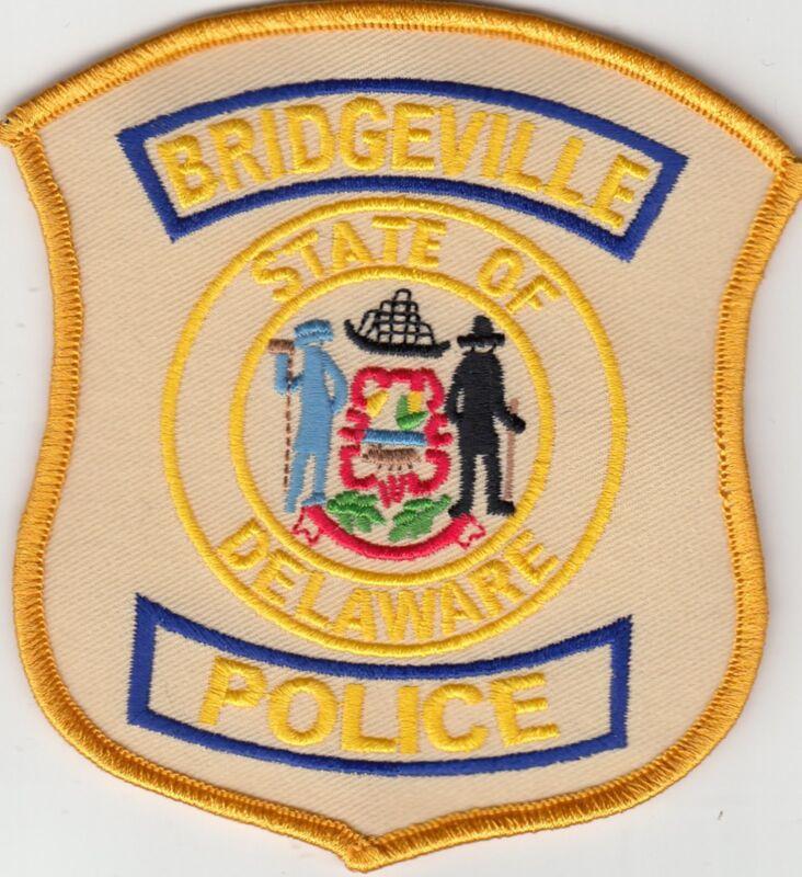 BRIDGEVILLE POLICE SHOULDER PATCH DELAWARE DE