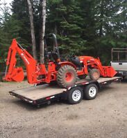 Compact Tractor For Hire