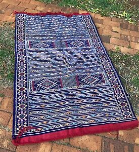 Handwoven Authentic Moroccan Wool Rug