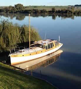 classic 33 foot Huon pine river boat Murray Bridge Murray Bridge Area Preview