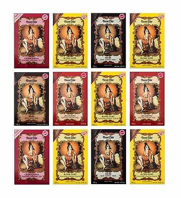 Henna Color 100g  Naturhaarfärbemittel Hennè Pulver Pflanzen Haar Farbe Öko