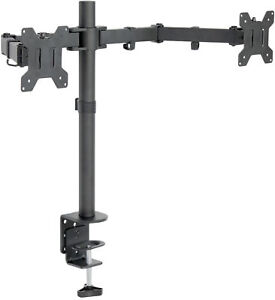 VIVO Dual Monitor Desk Mount Stand Heavy Duty Fully Adjustable Screens up to 27