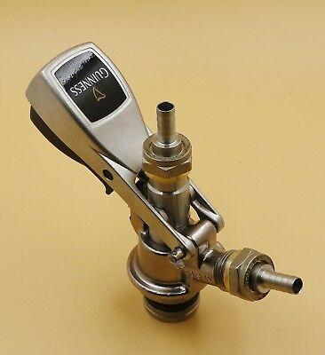 New Beer Keg Coupler Tap System U Guinness Micro Matic Metal Handle
