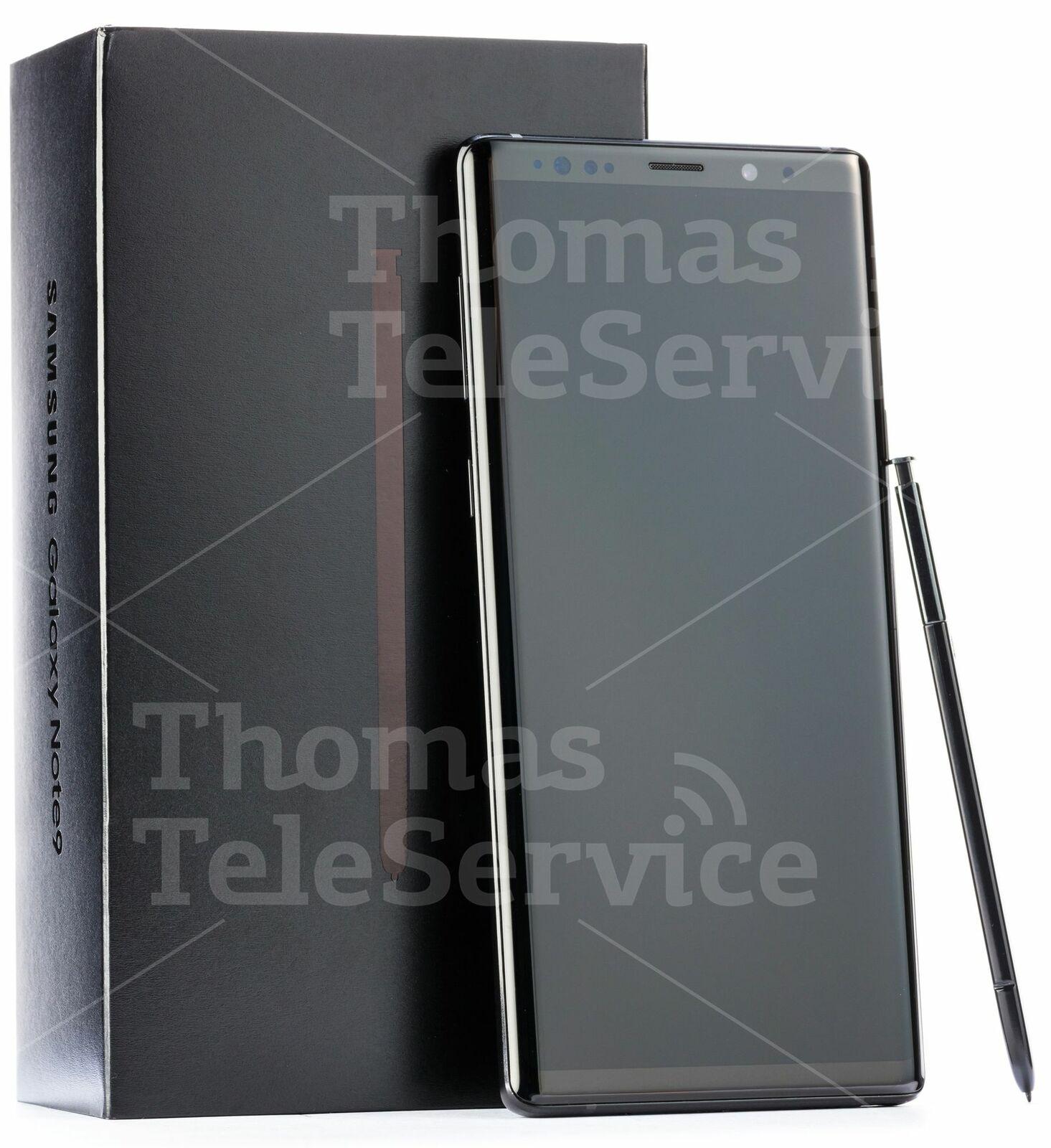 Samsung Note 9 Dual Sim N960f 128GB Black Schwarz Smartphone Handy Neu OVP