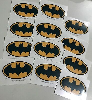 Batman Tattoos x 12 - Loot Bags - Party Favours - Batman Party - Batman Birthday](Batman Party Bags)