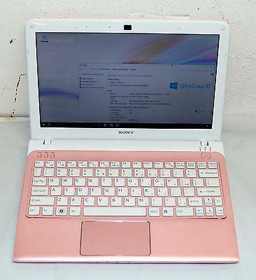 "Sony VAIO SVE1112M1EP 11,6""  AMD E2-1800 1,70GHz, 320GB 4 GB Pink"