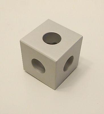 8020 8020 Inc Equivalent - Aluminum Square Tri Corner Connector 10 Series 4042