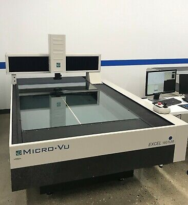 Micro-vu 1601um Video Measuring Machine Vision Cmm W Inspec Software