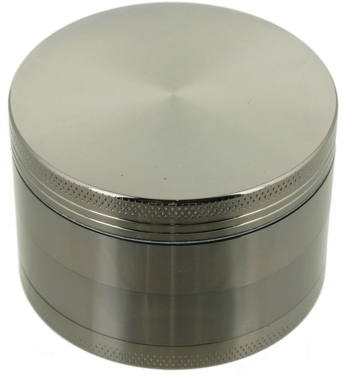 "2.5"" Tobacco Herb Grinder Spice Herbal 4 PC Metal Chromium A"