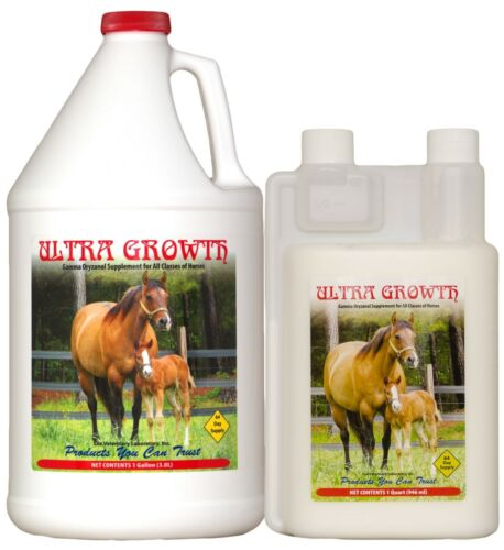 ULTRA GROWTH Nutrition Liquid Muscle Builder Supplement/ Horses-32oz BEST PRICE!