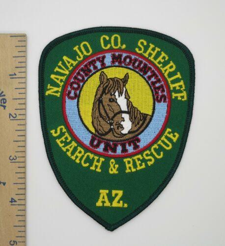 NAVAJO COUNTY ARIZONA SHERIFF SEARCH & RESCUE MOUNTIES PATCH Vintage Original