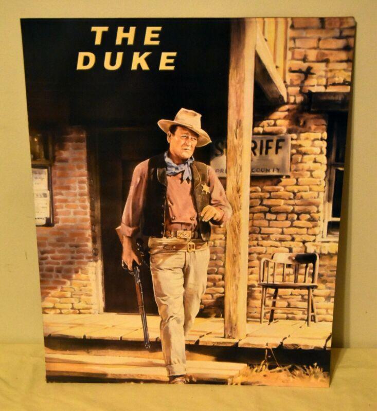 JOHN WAYNE 16x20 The Duke Poster Western Cowboy