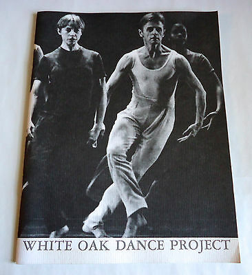 WHITE OAK DANCE PROJECT IN JAPAN 1994 PROGRAM BOOK w/Flyer Mikhail Baryshnikov