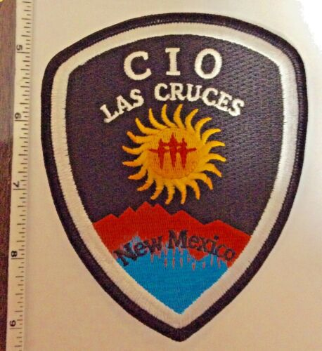 Las Cruces New Mexico Police C.I.O. Shoulder Patch New