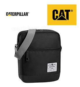 CATERPILLAR CAT 83144 SHOULDER BAG BLACK 11f6028c4cbba