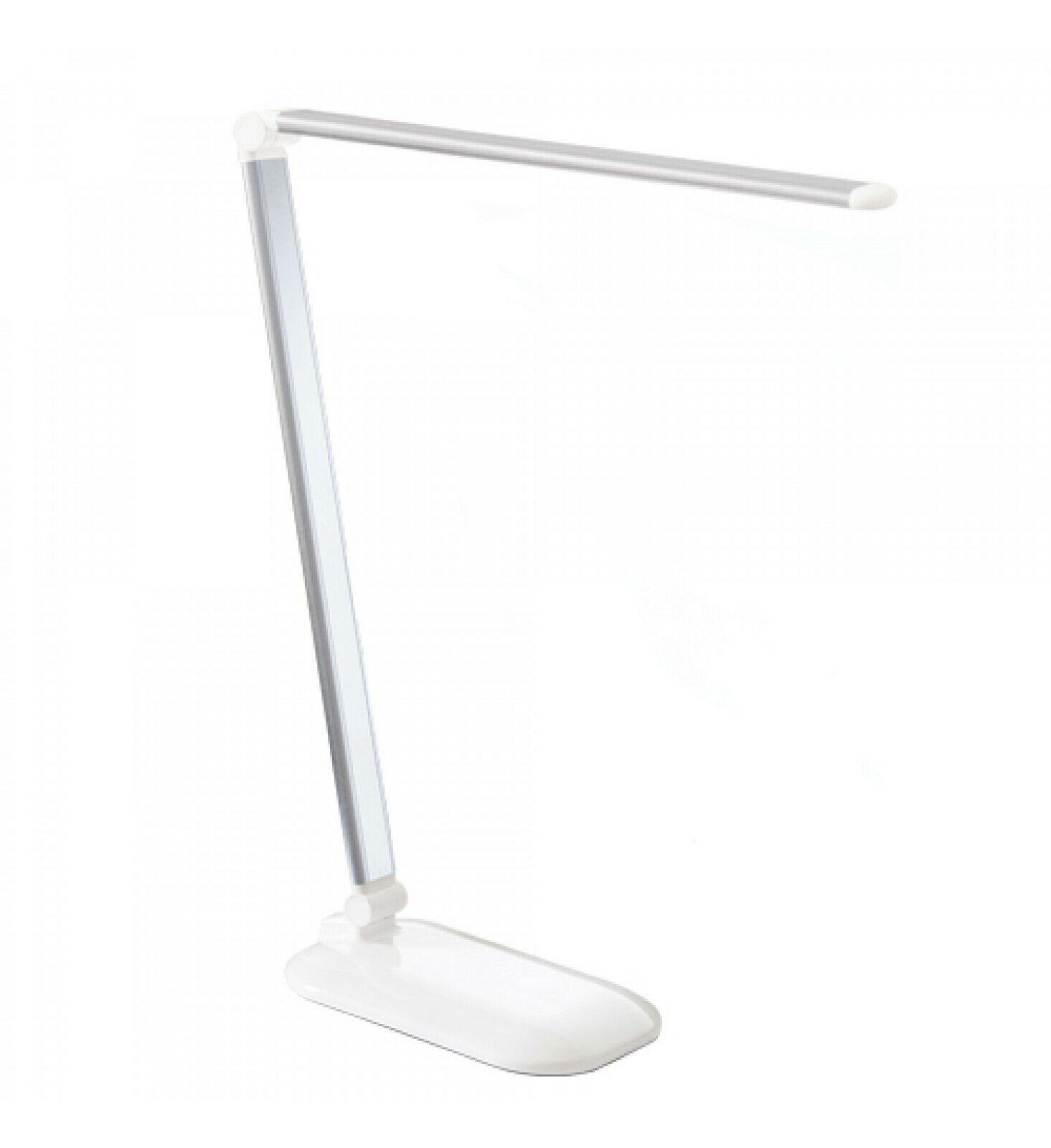 New Nail Art Touch LED Arbeitsplatzleuchte Silber Dimmer Nagelstudio Lampe Tisch