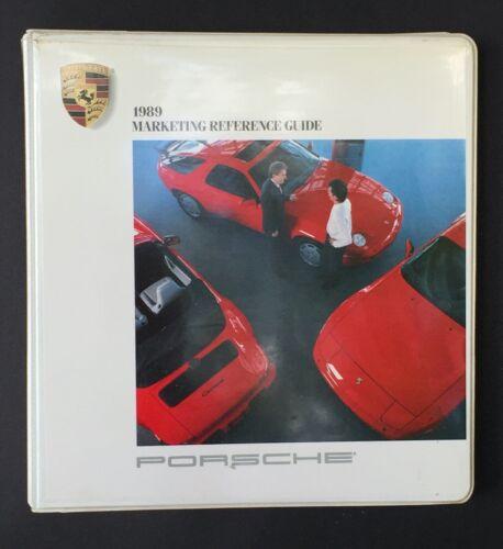 RARE! 1989 Porsche 911 944 DEALER ONLY  Sales Manual Large Ring Binder!