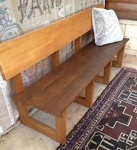 Solid Wood, Pew, Bench, Seat, East Kurrajong Hawkesbury Area Preview