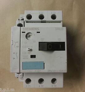 Siemens Sirius Manual Starter Motor Breaker 3rv1011 1da10