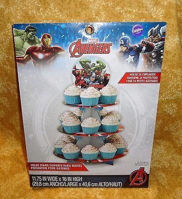 /Treat Stand,Cardboard,Wilton,1512-4110,Marvel Comics (Avengers Cupcake Stand)