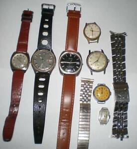 ANOTHER COLLECTION OF VINTAGE WATCHES