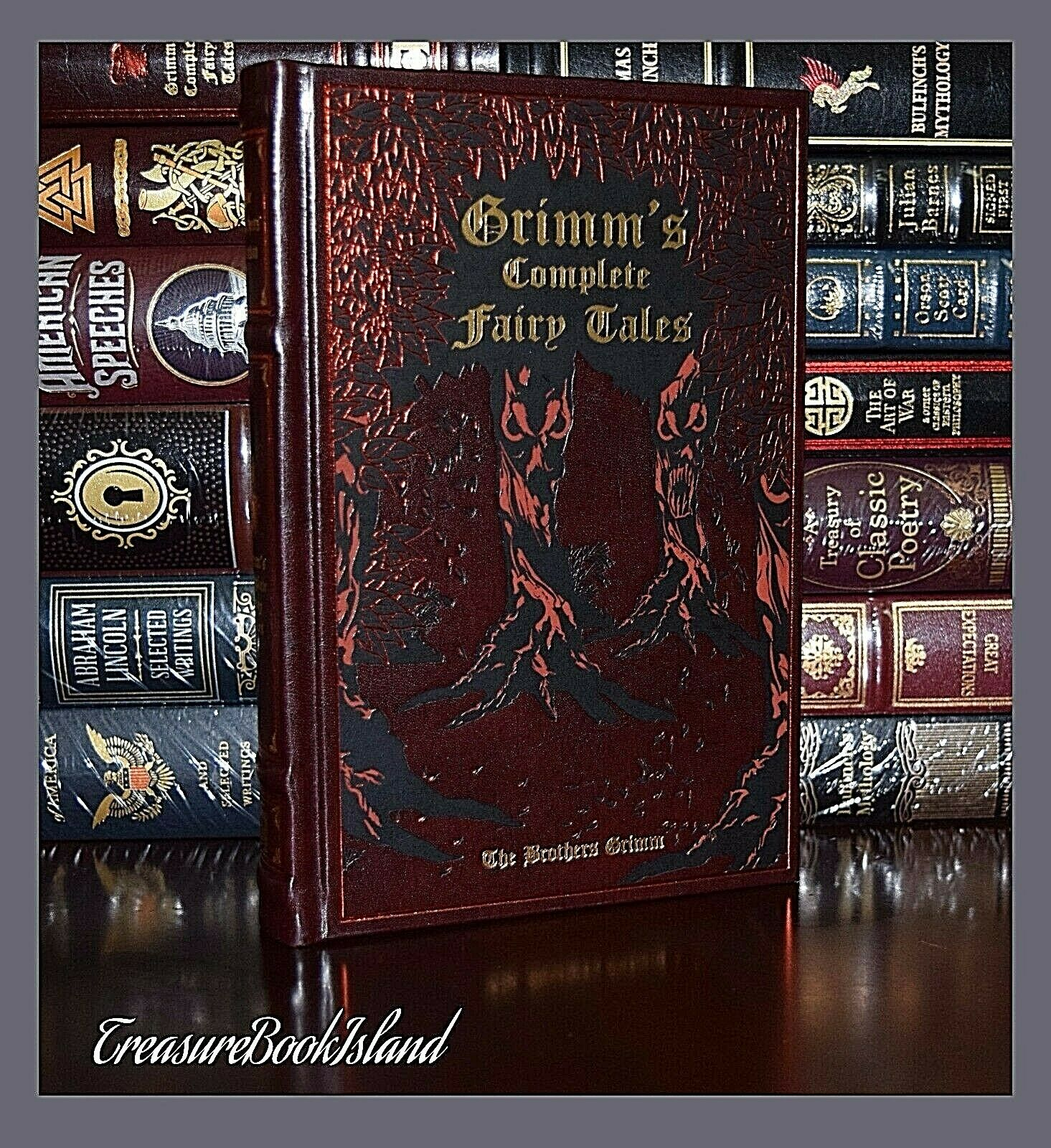 Complete Fairy Tales by Brothers Grimm New Illustrated Collectible Hardcover