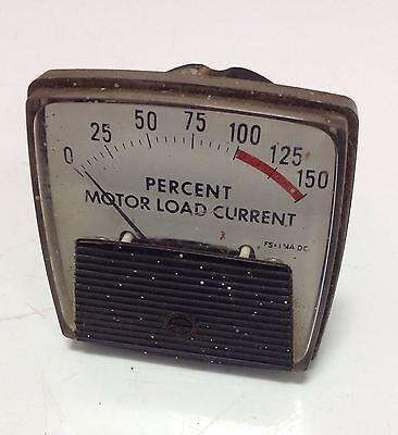 Ge 0-150 Motor Load Current Meter 104709 Pzb