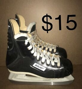 youth junior boys used ice hockey skates size 11 12 13 1 2 3 4