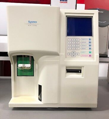 Sysmex Kx-21n Automated Hematology Analyzer Fully Operational Verified