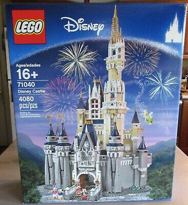LEGO CINDERELLA'S CASTLE WALT DISNEY WORLD BUILDING SET MICKEY MOUSE 71040 NEW