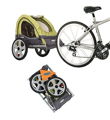 Bicycle Trailer Stroller Canopy Child Kids Jogger Carrier Bike Folding Pet Dog