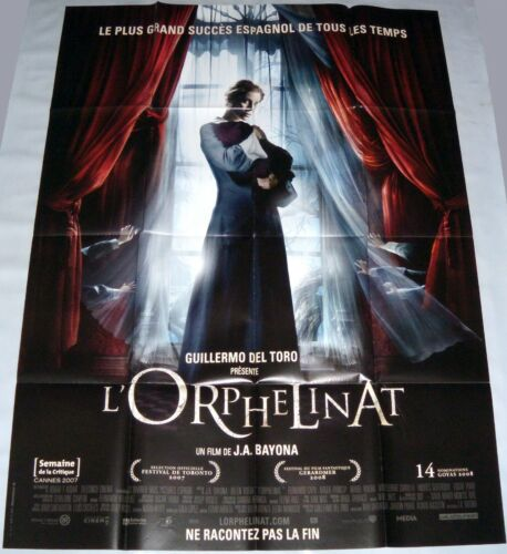 THE ORPHANAGE - EL ORFANATO Belén Rueda Del Toro Bayona LARGE french POSTER